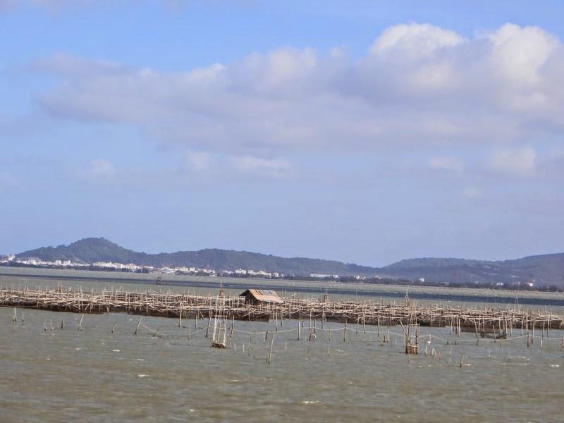 Рыбацкие постройки Таиланд