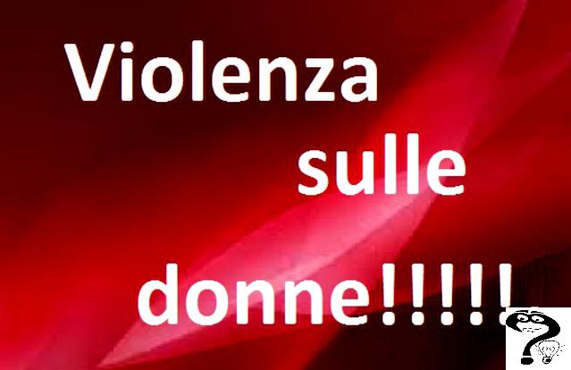violenza sulle donne tra le mura domestiche