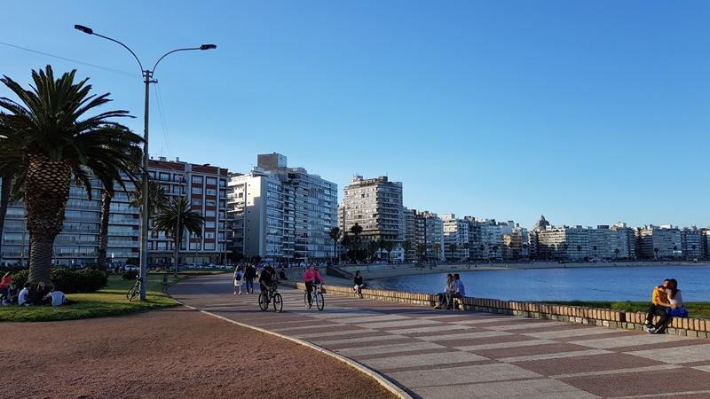 Rambla de Pocitos - Montevidéu