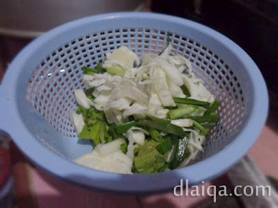 sayuran pelengkap