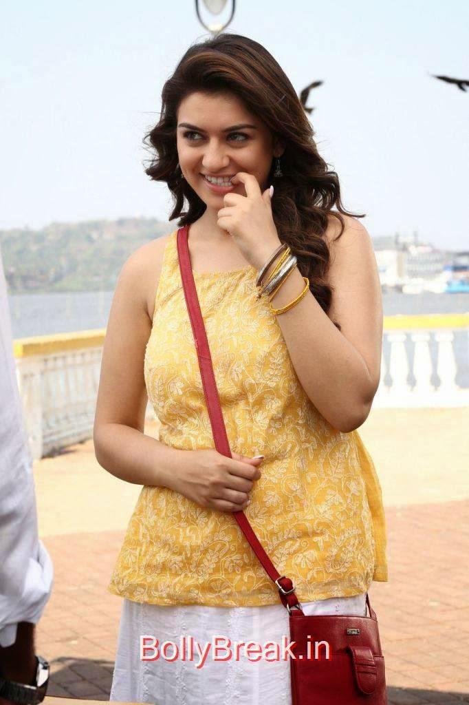Tollywood Actress Hansika, Hansika Hot Stills From tamil movie Meagaamann