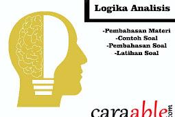 Tes Psikotes Logika Analisis Lengkap || Penjelasan Materi, Contoh Soal, Latihan Soal dan Pembahasan