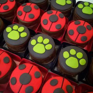 Doces para festa Aniversário Ladybug