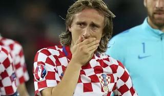 Cristiano Ronaldo Resmi Hengkang, Inilah Reaksi Mengejutkan dari Luka Modric