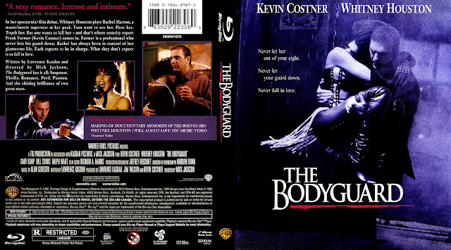 The Bodyguard Bluray Cover