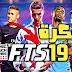 تحميل لعبة كرة القدم FTS 19 Mod PES 2019 مهكرة بآخر الانتقالات والاطقم بجرافيك خرافي على  ميديا فاير