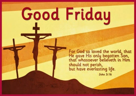 Good Friday Bible Verse Wallpaper