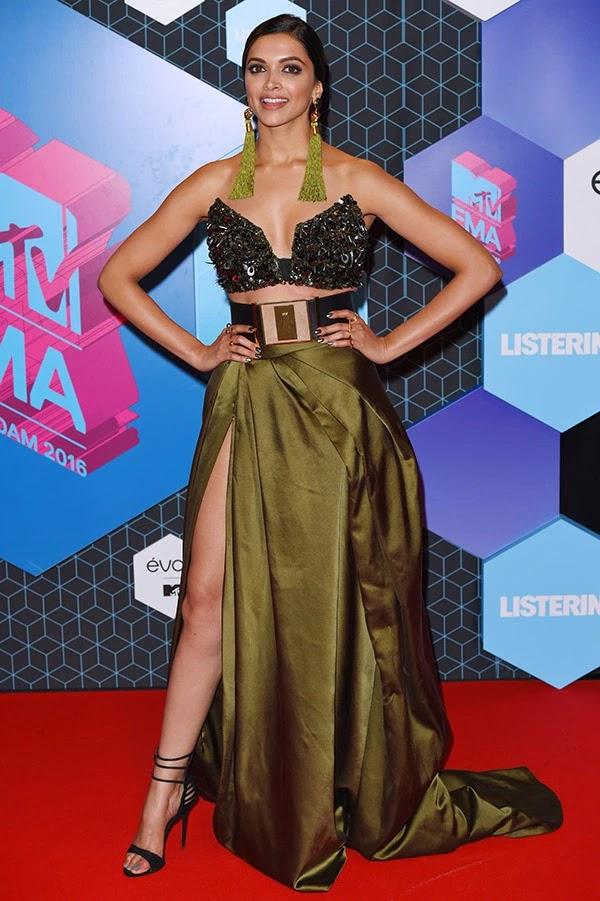 Deepika Padukone attends the MTV Europe Music Awards