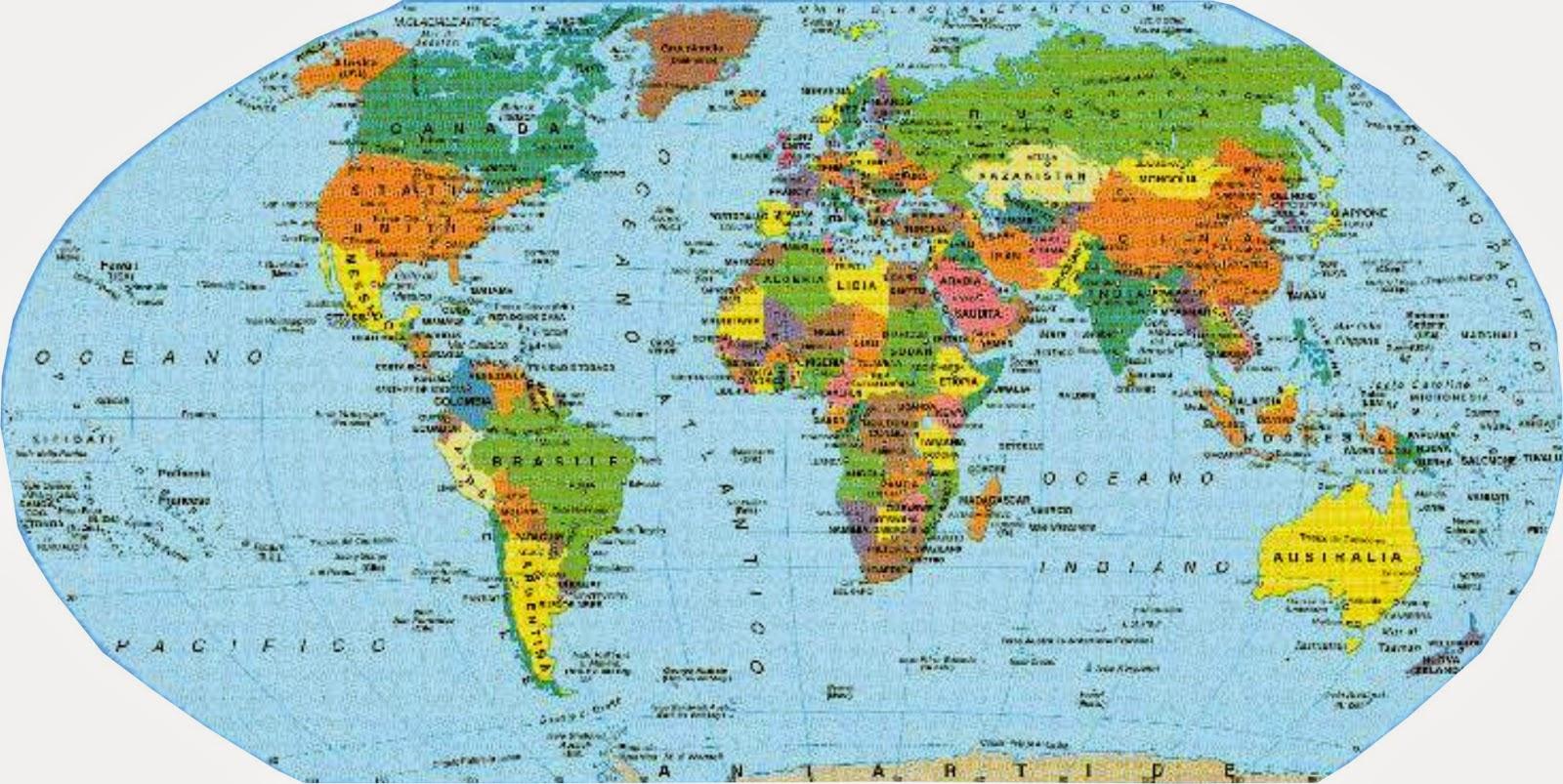 Stati del mondo e capitali