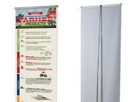 Standar Ukuran Roll Banner untuk Promosi