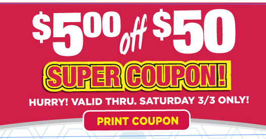 03173f91e3 Extreme Couponing Mommy: $5.00/$50.00 Purchase Tops Markets Super Coupon
