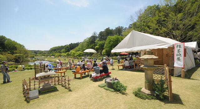 Kasama-no-Toensai (Himatsuri), Geijutsu-no-mori Park, Kasama, Ibaraki