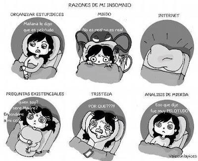 Consejos para dejar de preocuparte cuando no puedes dormir
