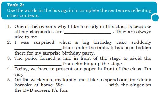 Pembahasan Soal B Inggris Chapter 8 My Idol Page 113 Kelas 10 Saifullah Id