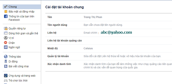doi dia chi yahoo thanh gmail tren facebook 1