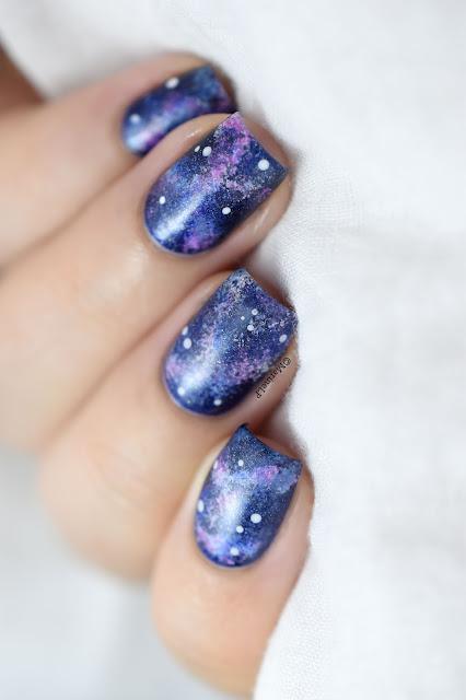 Galaxy Nail Art Designs Y
