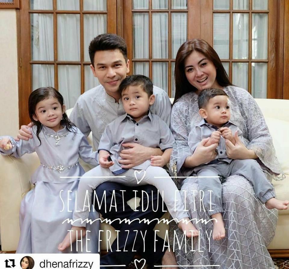 Frizzy Dress By Nitha Rahadi Melody Fashion 098 Baju Couple Keluarga