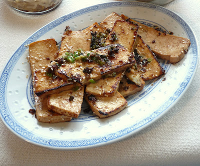 Grilled Tofu in Korean Marinade