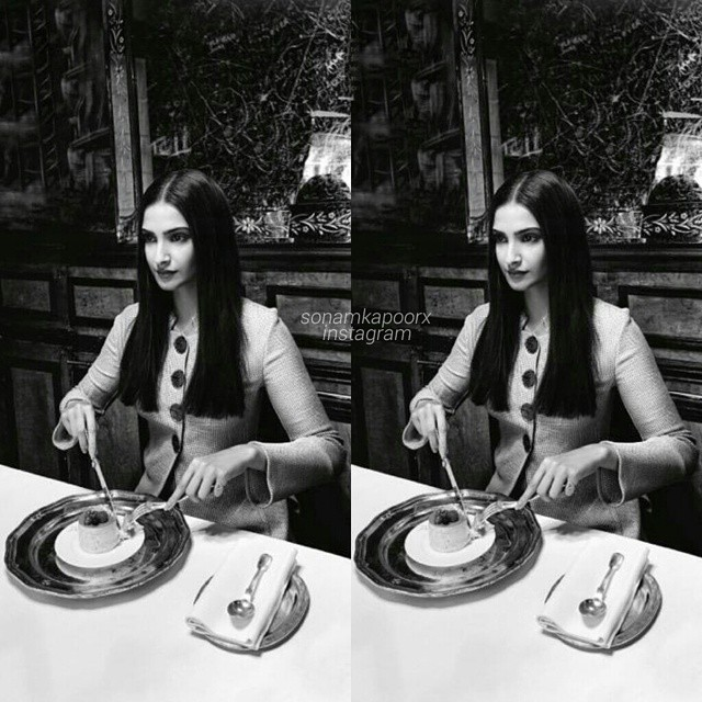 this whole vogue shoot is based on sonams paris experience i love it 😍😍, Sonam Kapoor Vogue Magazine Bold Scans April 2015 Issue