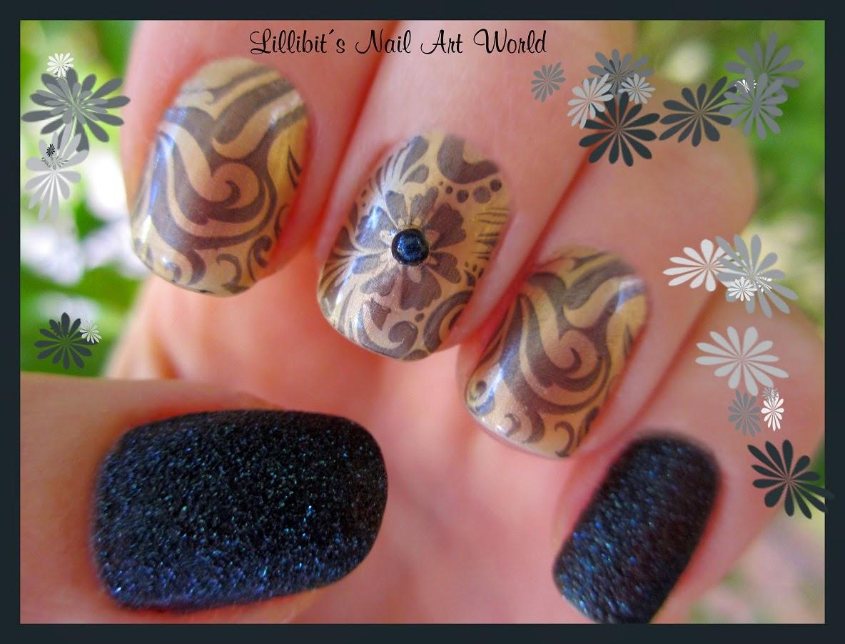Lillibits Nail Art World Placa De Estampar Bp L005