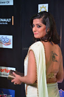 Varalakshmi in Cream Saree Sleeveless Backless Deep Neck Choli at IIFA Utsavam Awards March 2017 020.JPG
