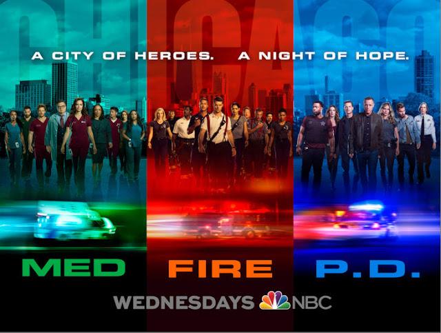 chicago med%252C pd and fire new season key art - Chicago Wednesday Returns Promo