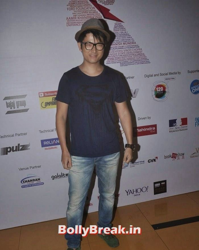 Meiyang Chang, Photos from Opening Ceremony of MAMI 2014
