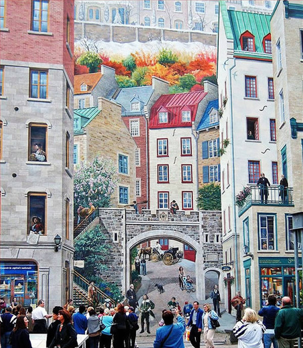 Wall Painting, Quebec