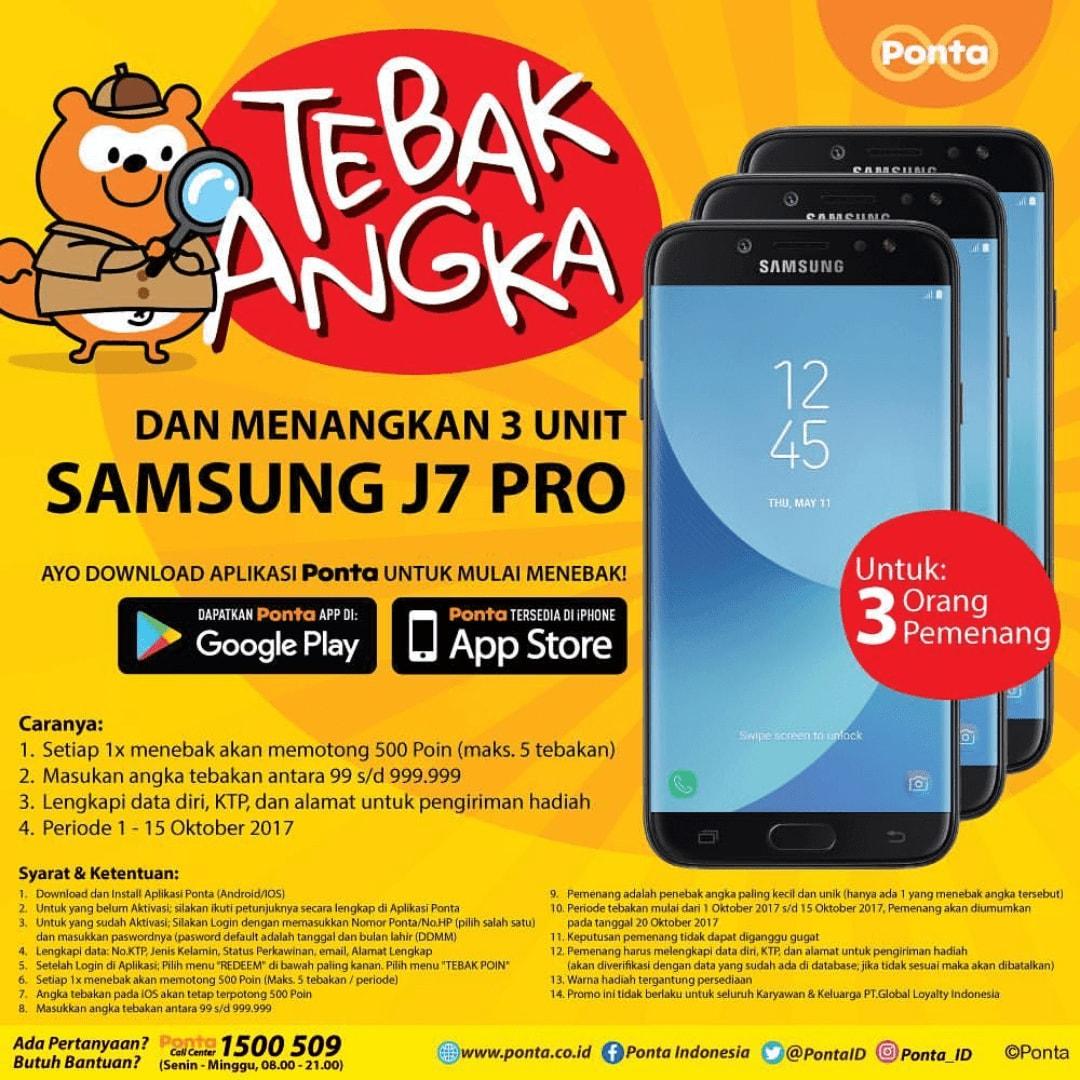 Kuis Berhadiah Samsung J7 Pro Dari Ponta Indonesia   WebBudi.com