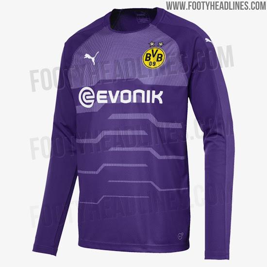 half off 82023 e34f8 Puma Borussia Dortmund 18-19 Goalkeeper Home, Away & Third ...