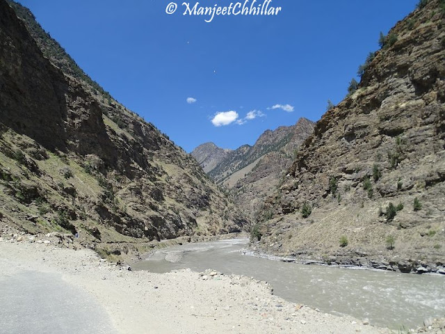 Sutlej River and NH 22
