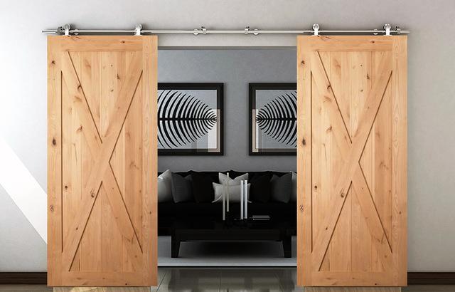 Functional%2B%2526%2BStylish%2BSliding%2BRolling%2BDividers%2BWood%2BDoors%2B%25288%2529 30 Practical & Fashionable Sliding Rolling Dividers Wooden Doorways Interior