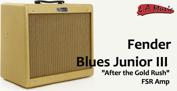 New for 2013: Fender Blues Junior III