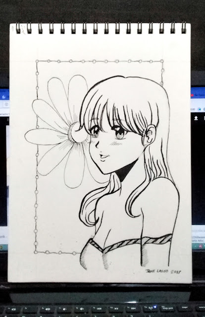 Dibujo con tinta china