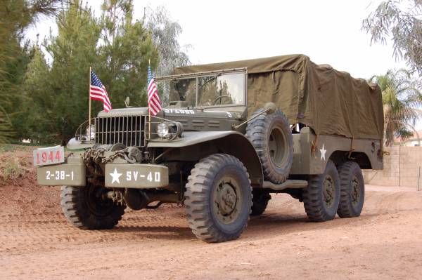 1944 Dodge WC63 6x6 Army Truck