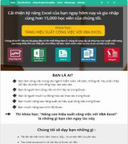 Theme blogspot landing page bán hàng