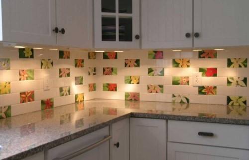 Inspirasi desain model keramik dapur minimalis Motif Keramik Dapur Sempit