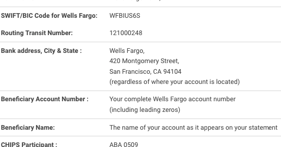 sc 1 st  ABA Routing Numbers 2017 : wells fargo wiring routing number - yogabreezes.com
