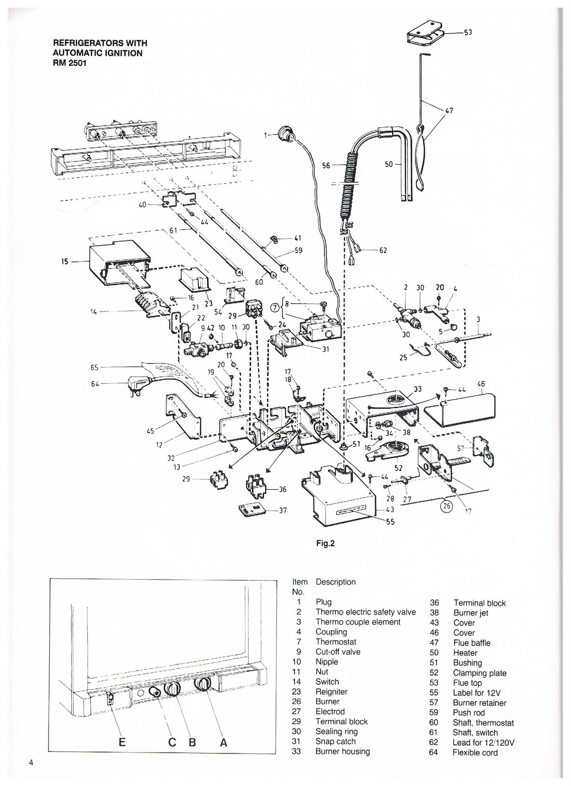 water pump wiring diagram 04 ford f150 1983 fleetwood pace arrow owners manuals: dometic 2 way refrigerator rm2301-2402-2501-260 & 2801