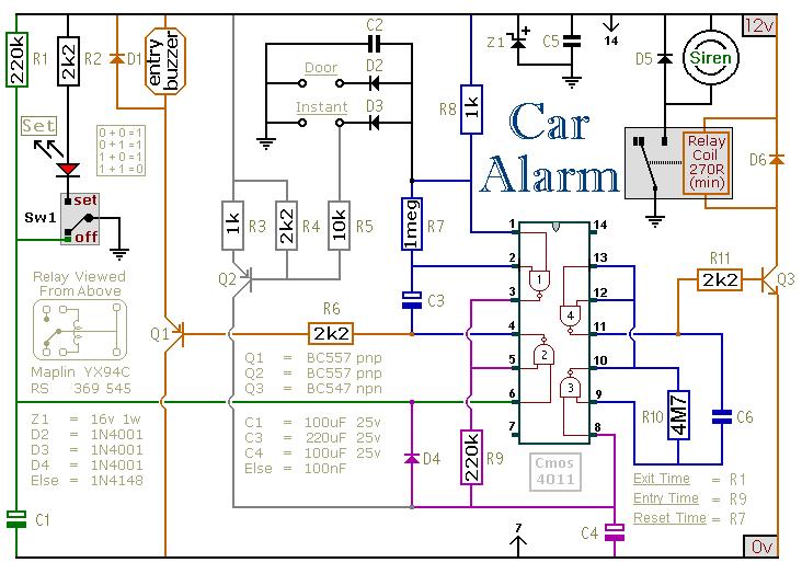 car alarm system wiring diagram car image wiring electronic alarm system wiring diagram electronic home wiring on car alarm system wiring diagram