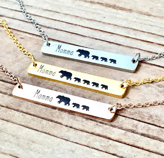 mama bear neclace mothersday gifts