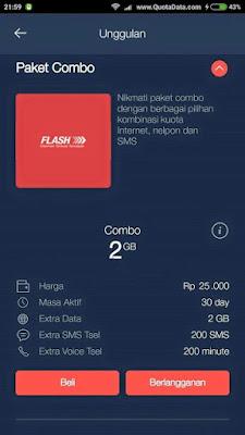 Cara Daftar Paket Combo Telkomsel Murah 2018 Terbaru 2GB Hanya 25 Ribu