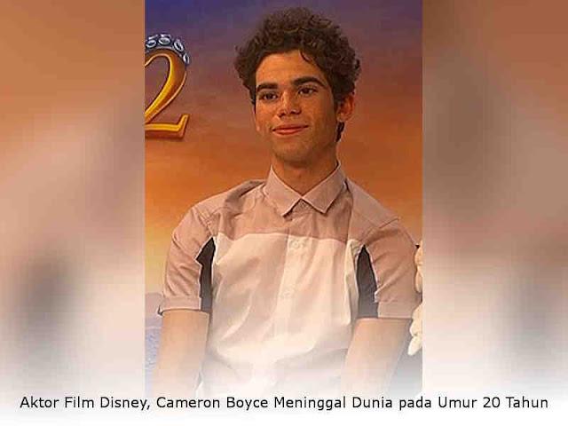Aktor Film Disney, Cameron Boyce Meninggal Dunia pada Umur 20 Tahun