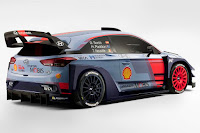 Hyundai i20 Coupe WRC 2017 Rear Side