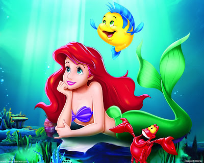 Ariel , the little mermaid