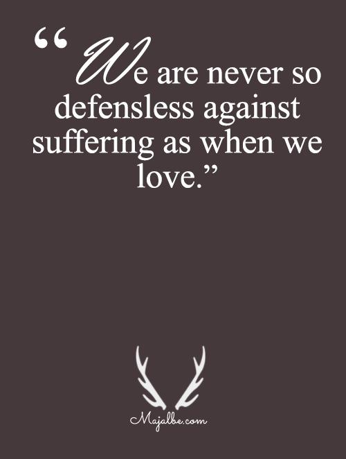 Never Defenseless As Falling InLove