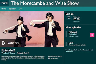 Morecambe and Wise: The Lost Tapes