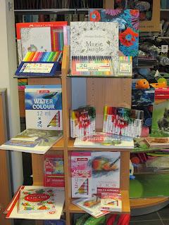 Gamma kleur potloden, stift en verf