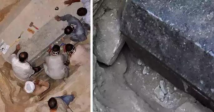 Άνοιξαν την τεράστια σαρκοφάγο της Αλεξάνδρειας στην Αίγυπτο – Δείτε τι βρήκαν (εικόνες)