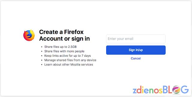 sign in - Firefox Send - Cara Cepat Mengirim File dengan Aman